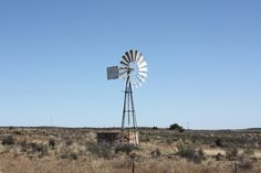 Windpomp (windpump) in the Karoo, South Africa Water Wheels, Wind Power, Windmill, Waterfalls, Wind Turbine, South Africa, Waiting, Landscapes, Scenery