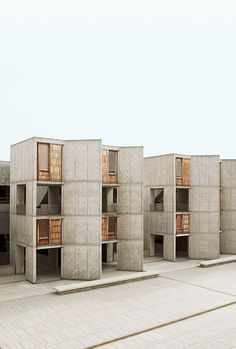 Salk Institute for Biological Studies, by Louis Kahn [1959]
