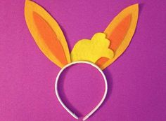 Happy Easter! Make this special Bunji bunny ears headband to celebrate! #Spring #Sproutchannel #Easter