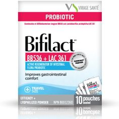 BIFILACT TRAVEL:  Easy to use thanks to its convenient format, Bifilact effectively prevents and treat traveler's diarrhea (turista). Also, Bifilact (travel size) improves gastro-intestinal comfort, to be used with antibiotic treatments, prevents and relieves from diarrhea in general,intestinal inflammatory diseases (ulcerative colitis, Crohn's disease, diverticulitis) and irritable bowel syndrome symptoms.