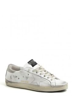 Golden Goose-sneakers super star white grey t-star-Golden Goose shop online