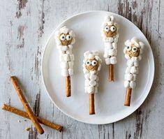 Maximale Vorfreude auf Ostern mit unseren Osterlämmern aus Saltletts Maxi Sticks und Marshmallows. Schafft eure eigene Herde - das Rezept gibt's auf unserer Webseite.