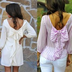 Very pretty look. Chic Outfits, Fashion Outfits, Womens Fashion, Fashion Tips, Ladies Fashion, Stylish Eve, Bow Tops, Classy Women, Cute Tops