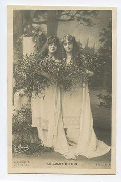 Woods Fairy Fairies original early 1900s Photo postcard lot SET of 12   eBay