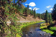 The North Fork of the John Day River on U.S. Highway 395. Umatilla County Scenic Images [160 images]