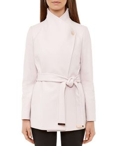 124b8e62f4c420 Ted Baker Elethea Short Belted Coat Available at Masdings.com Hijab  Fashion