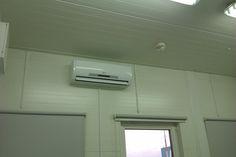 Montaż klimatyzatora Mistral o wydajności 3,5 kW w biurze w Granicznym Inspektoracie Weterynaryjnym w Warszawie
