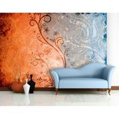 Abstract flower wallpaper  - absztrakt virág mintás poszter tapéta #poszter #poszter_tapéta #fotótapéta #lakásdekoráció #faldekoráció #óriásposzter #tapéta_ötletek #wallmural #poster #absztrakt #abstract_wallmural #abstract