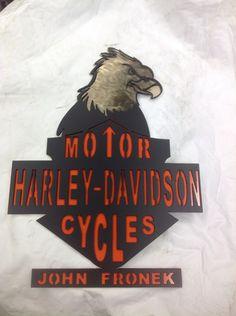 Harley Davidson Custom Sign
