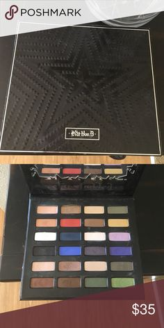 Kat Von D Star Studded Eyeshadow Palette Lightly used a few times, never use these colors! Great palette but I tend to stick to neutral shades  Kat Von D Makeup Eyeshadow
