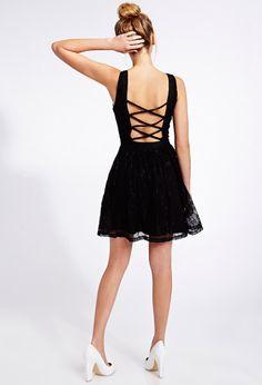 Poetic Crochet Lace Dress | FOREVER21 - 2000093162