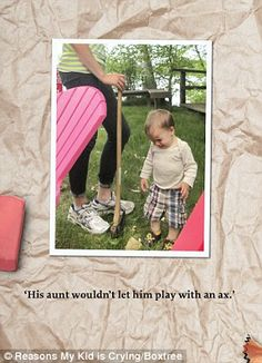 Reasons My Kid is Crying by Greg Pembroke is published by Boxtree on October at Life Humor, Mom Humor, Reasons Kids Cry, Crying For No Reason, Tumblr Pages, This Is A Book, Cry Baby, Funny Fails, Make You Smile