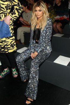 Kylie Jenner: Prabal Gurung fashion show, September 13