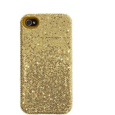 Glitter iPhone case ($20) ❤ liked on Polyvore