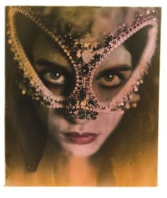 Jewelled mask by Vicki Sarge.
