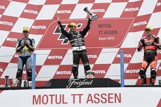 29.06.2015 - ZARCO-RABAT-LOWES: The Assen GP gave us many emotions last Sunday with an amazing hat trick signed TCX! Thanks guys, keep up the good work!
