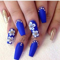 how about some chic Spring Nails Designs and Colors Ideas to make your spring way more stylish than it ever was? You will love these top manicure that Flower Nail Designs, Nail Designs Spring, Acrylic Nail Designs, Nail Art Designs, Nails With Flower Design, 3d Flower Nails, 3d Acrylic Nails, 3d Nail Art, Fabulous Nails