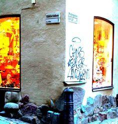 Katutaidetta tuhat vuotta sitten ja puoli vuotta sitten: Prästgatan