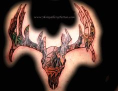 deer tattoos for women | Brent Severson - Real Camo Deer Skull