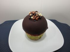 Cupcake cúpula de chocolate