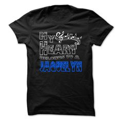 My Heart Belongs to ► Jaquelyn - Cool T-Shirt ₩ !!!If you are Jaquelyn or loves one. Then this shirt is for you. Cheers !!!xxxJaquelyn Jaquelyn