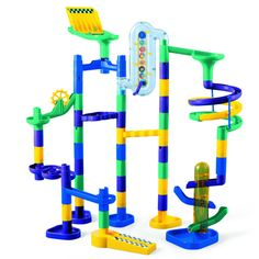 Marbleworks Deluxe Set  Design your very own raceway!  Fun for ages 5 years and up