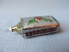 Antique German Glass Christmas Ornament HARMONICA 1940's | Collectibles, Holiday & Seasonal, Christmas: Vintage (Pre-1946) | eBay!