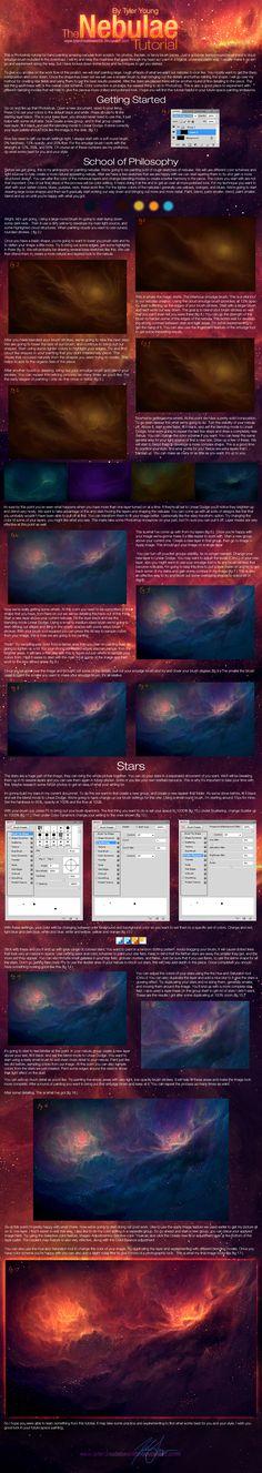 Nebulae Tutorial by *TylerCreatesWorlds on deviantART