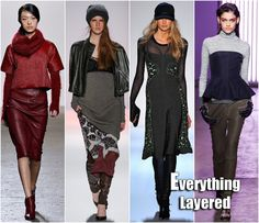Fall 2013 Fashion Trends | New York Fashion Week Fall 2013 Trends Everything Layered Trend Zero ...GET LAYERED!