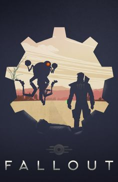 Fallout Poster by Pixalry - via Glenboogy on Tumblr   #fallout #gaming