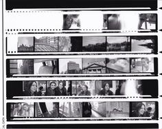 Contact Sheet for photography