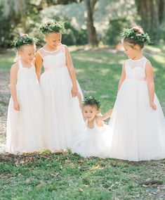2019 Flower girl looks Mix and Match styles for the perfect combination! Designer Flower Girl Dresses, Rustic Elegance, Wedding Gallery, Flower Girls, Special Occasion Dresses, Big Day, Wedding Styles, Real Weddings, Tulle