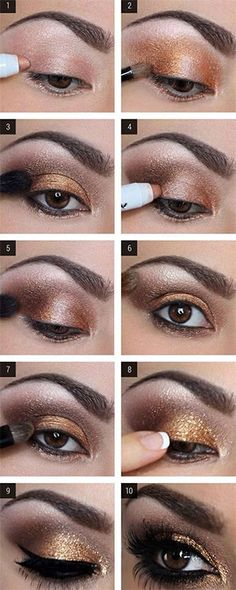 How to make your brown eyes pop with makeup