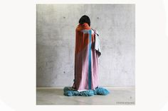 Blanket by Textile Designer Irene Infantes. Graduate from Central Saint Irene, Central Saint Martins, Textile Design, Screen Printing, Duster Coat, Textiles, Deco, Blanket, Dresses