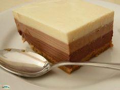 llll➤ Tarta de tres chocolates Mambo Cecotec - Elrobotdecocina.net Tres Chocolates, Cheesecake, Pastel, Drink, Desserts, Recipes, Food, Gourmet, Chocolate Mix