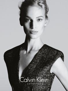 Vanessa Axente Stars in Calvin Klein s Fall 2013 Campaign by Mert   Marcus 9e076fefa5