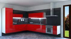 Hanging kitchen