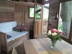 Living in a shoebox | A tree house in a beech