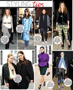 Styling Tips-March via @WhoWhatWear