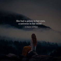 She had a galaxy in her eyes a universe in her mind. via (http://ift.tt/2nxt9X1)
