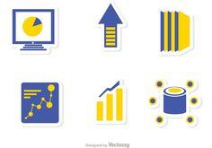 Big Data Management Icons Vector Pack 2 Big Data, Management, Icons, Logos, Design, Symbols, Logo, Ikon