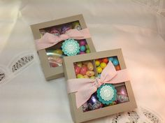 DIVIDED EASTER TREAT BOX