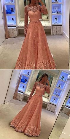 elegant beach formal party dresses, fashion prom gowns with appliques, modest evening dresses with long sleeves beaded.