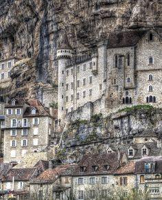 Rocamadour, France by Louis-photos Rocamadour France, Dordogne, Limousin, Beautiful Places In The World, Wonderful Places, Saint Sauveur, Destinations, Belle Villa, Destination Voyage