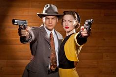 Holliday Grainger and Emile Hirsch as 'Bonnie & Clyde' in A's Upcoming Miniseries