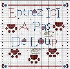 Maison - house - entrez - point de croix - cross stitch - Blog : http://broderiemimie44.canalblog.com/