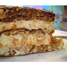 Eclair Cake: This is a very quick and simple no bake dessert cake. It uses graham crackers and a pudding mixture. It tastes just like an eclair, but there is enough for a crowd!! It is a great recipe for children who are learning to cook, there is no baking involved or any power kitchen tools. Just a bowl and a spoon!
