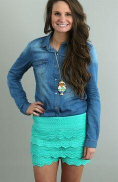*Back for Fall* Emmaline Denim Shirt -2 Washes Available   $18.99 on Jane.com