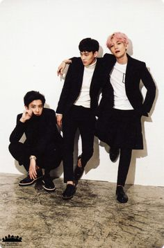 2016 Season's Greetings : Chinese Ver. Photocard - Chanyeol, Chen, and Baekhyun