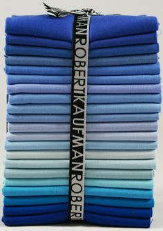 Kona® Cotton Solids, My Blue Heaven colorstory
